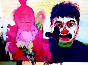 Self Portrait As Coco The Clown